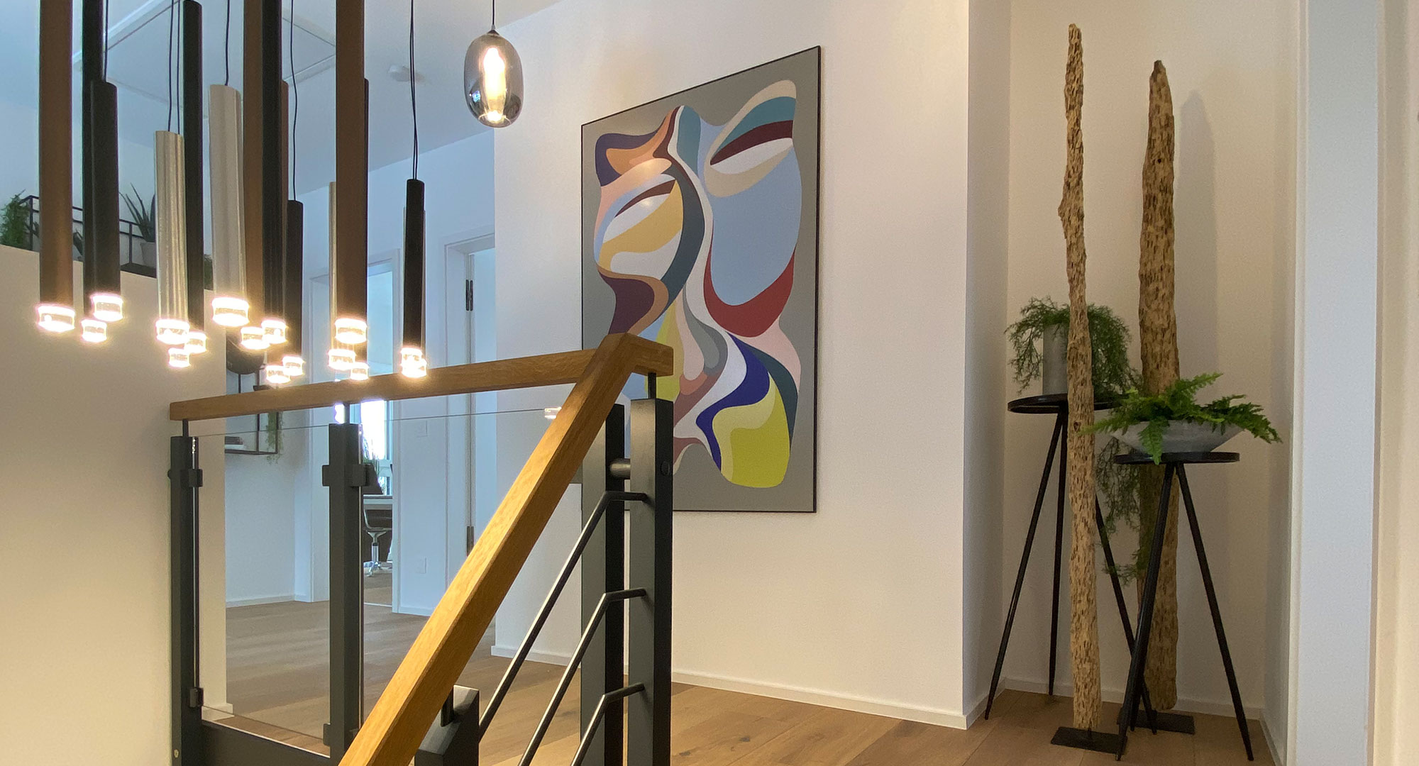 Treppenaufgang - Raum, Energie, Design - Eva Stallinger